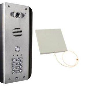 Draadloze wifi-video-Intercom met codeklavier AES WIFI-ASK
