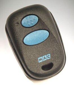 Handzender Mac mini 2 kanaals, 433 MHz